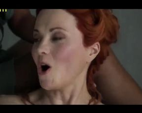 Lucy Lawless Bare Fun Bags Vignette In Spartacus