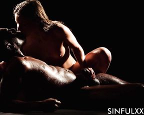 BLACK OBSESSION (Part3) Oiled Sex