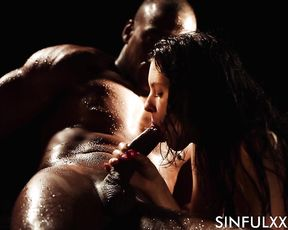 BLACK OBSESSION - Best Oiled Porn Video