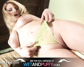 Immense Booby Stunner Greases Up Raw Pussy