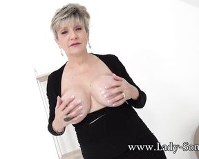 Huge-Chested mature Doll Sonia wants you to jack to her mounds