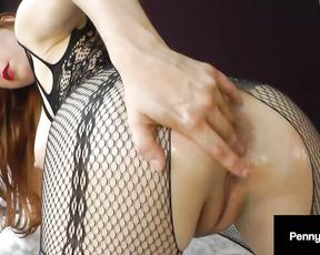 Ass Fucking Lovemaking Fun With Red Head Penny Pax Ramming Her Coochie And Her Pinkish Fuck Hole!
