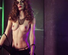 Beauty Erotic - Nude Art Girl with a Bike