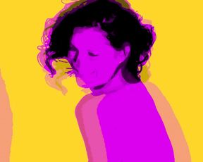 Naked on Stage - Warhol Colors Light