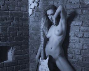 Nude Art Studio - My Girl is a Bad  Guitar Player