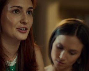 Dominique Provost-Chalkley ho lesbian scene - Wynonna Earp s04e09 (2021) TV episode