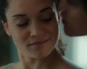 Ophelie Bau, Lola Bessis - Loving (2021) hot nude and lesbian kiss scene