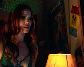 Paige Phillips, Johanna Rae, Naiia Lajoie - The Gingerweed Man Chapter 2 (2021) funny hot thriller, nude scene