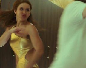 Karyna Bershadskaya, Anna Vlasova - The Last Mercenary (2021) sexy russian actresses