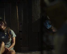 Megan Fox hot - Midnight in the Switchgrass (2021) all thriller scenes
