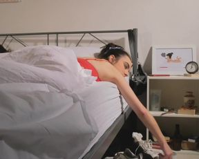 Ilona Gonnelaz sexy - Morp (2021) underwear scene