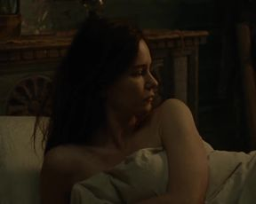 Vanessa Kirby , Katherine Waterston - The World to Come (2020) lesbian sexy scenes