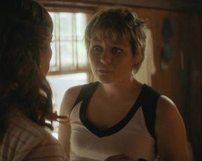 Jacqi Vene, Sadie Sink, Ryan Simpkins sexy - Fear Street Part Two 1978 (2021) all hot scenes