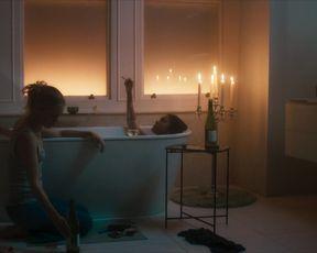 Thalissa Teixeira nude - Too Close (2021) short topless bath scene