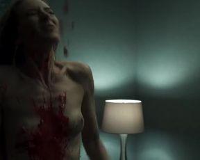 Abbie Cornish, Estelle Girard Parks – The Virtuoso (2021) Nude and Sex scenes