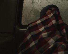 Genesis Rodriguez - Centigrade (2020) celebrity boobed scene