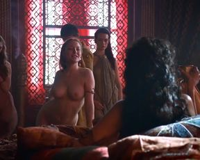 Hot actress Josephine Gillan Nude - Game Of Thrones s04e01 (US 2014)