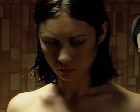 Hot actress Olga Kurylenko Nude - The Assassin Next Door (2009)
