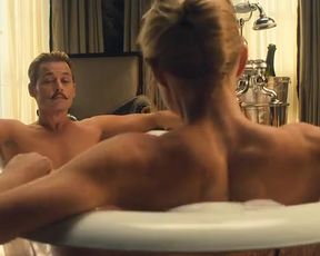 Hot scene Gwyneth Paltrow, Olivia Munn, Emily Lawrence Sexy - Mortdecai (2015)