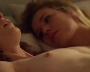 Celebrity Lesbian Video - Sharon Hinnendael, Jill Evyn Nude - Anatomy of a Love Seen (2014)