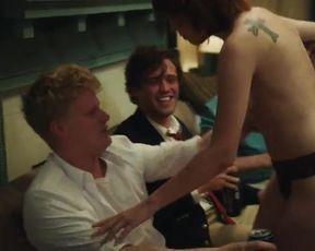Hot scene Uncredited Stripper Nude - Goat (2016)