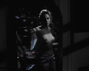 Sexy Sharon Stone Nude - Scissors (1991)