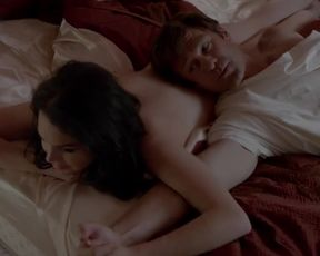 Sexy Lindsay Lohan Nude - Liz and Dick (2012)