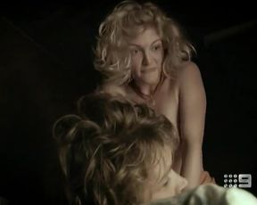 Hot actress Cariba Heine Nude - Blood Brothers (2011)