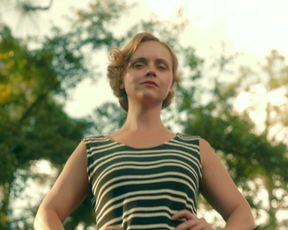 Hot scene Christina Ricci nude - Z (2015)