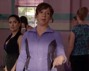 Sexy Salma Hayek, Maria Bello Sexy - Grown Ups 2 (2013) TV show scenes