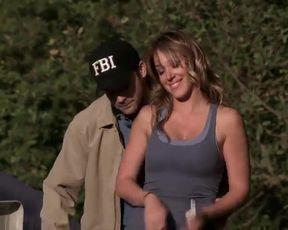 Sexy Haylie Duff Sexy - Backwoods (2008) TV show scenes