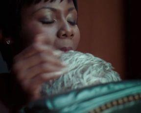 Sexy Elizabeth McLaughlin Sexy, Emayatzy Corinealdi Nude - Hand of God S01 E01 (2014) TV show scenes