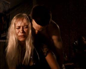 Explicit sex scene Irina Björklund & Laura Malmivaara & Matleena Kuusniemi - Levottomat (2000) Adult video from the movie