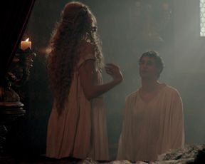 Naked scene Rebecca Ferguson - The White Queen s01e02 (2013) [uncut] TV show nudity video