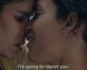 Celebrity Lesbian Video - Patricia Velasquez, Eloisa Maturen - Liz in September (2014)