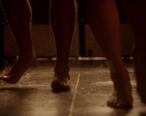 TV show scene Olivia Taylor Dudley nude - The Magicians s01e07 (2016)