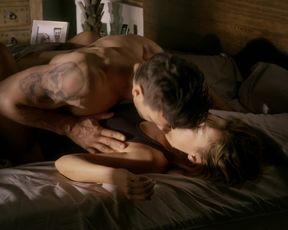 Naked scene Joanna Going, Kiele Sanchez - Kingdom s01e06 (2015) TV show nudity video
