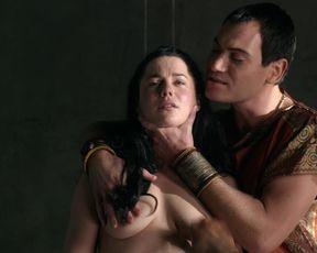 TV show scene Jessica Grace Smith, Lesley-Ann Brandt - Spartacus. Gods of the Arena s01e03 (2011)