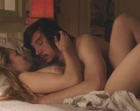 Naked scene Jemima Kirke, Lena Dunham, Zosia Mamet, Lena Hall nude - Girls S05E05 (2016) TV show nudity video