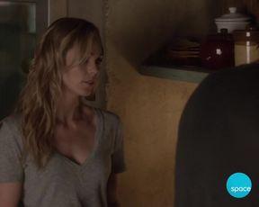 TV show scene Laura Vandervoort nude - Bitten S03E01-02 (2016)