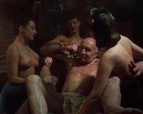 Naked scenes Michelle Bauer, Landon Hall, Jasmine Totschek - Puppet Master III Toulon's Revenge (1991)