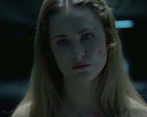 Naked scene Evan Rachel Wood, Angela Sarafyan - Westworld S01E01 (2016) Full HD 1080 (Sex, Nude, Bush) TV show nudity video