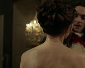 Naked scene Anna Brewster - Versailles s02e01 (2017) TV show nudity video