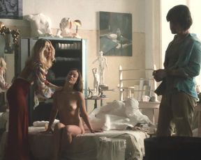 Naked scene Olivia Wilde, Juno Temple, Emily Tremaine nude - Vinyl S01E05-06 (2016) TV show nudity video