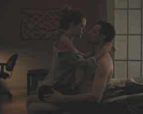 TV show scene Riley Keough - The Girlfriend Experience S01E01 (2016) (Tits, Masturbate)