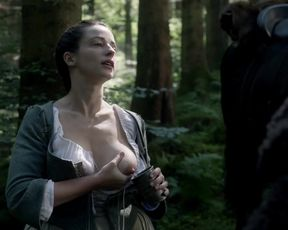 Naked scene Laura Donnelly - Outlander s01e14 (2015) TV show nudity video
