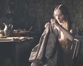 Celebs Hilary Swank, Miranda Otto, Sonja Richte -  The Homesman (2014) (Sex, Nude, Bush)
