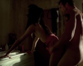 Actress Karen David, Alexandra Moen, Jennifer Tanarez - Strike Back S02 E01 (2011) Nudity and Sex in TV Show