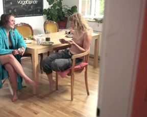 Explicit sex scene Dana #2 - Schnick Schnack Schnuck (2015) Adult video from the movie