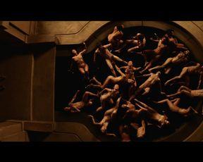 Naked scene Yetide Badaki - American Gods s01e08 (2017) TV show nudity video